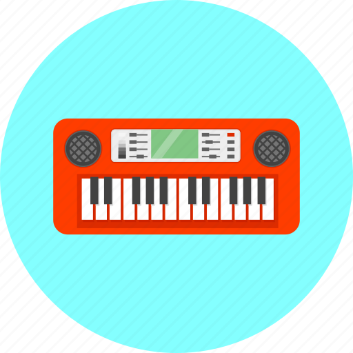 equipment, instrument, music, musical, notes, sound, synthesizer icon