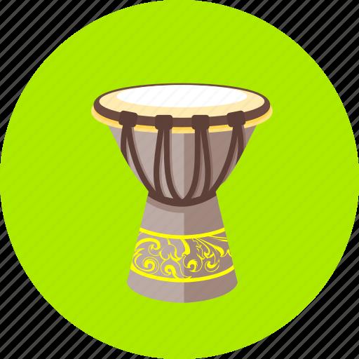 audio, drum, musical, musical instruments, popular, tamtam, tools icon