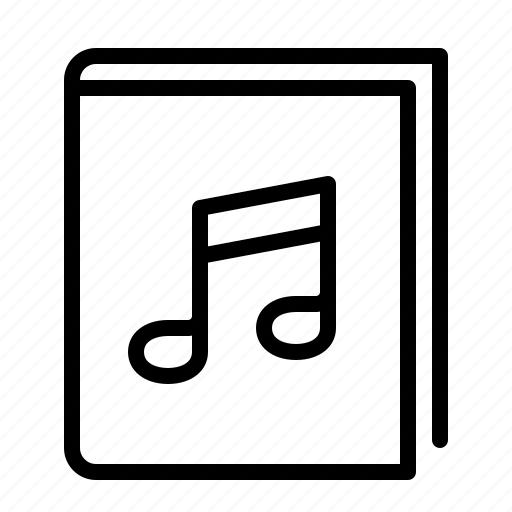 book, ios, music, notes, read icon