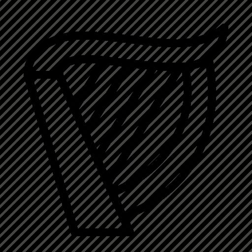 harp, instrument, ios, music, orchestra, sound, string icon