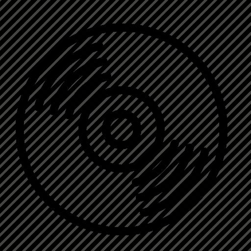 ios, music, player, record, sound, vinyl icon