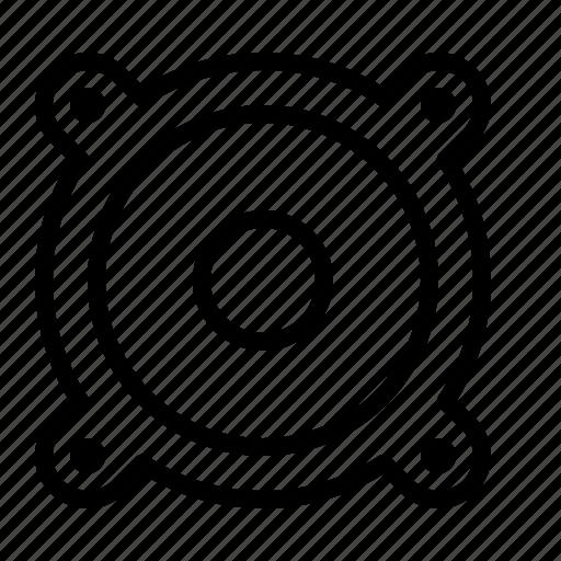 ios, loudspeaker, music, player, sound, speaker, volume icon