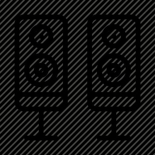 ios, loudspeaker, music, sound, speaker, speakers, volume icon