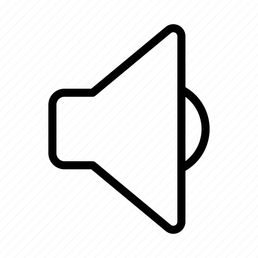 ios, low, music, play, sound, speaker, volume icon
