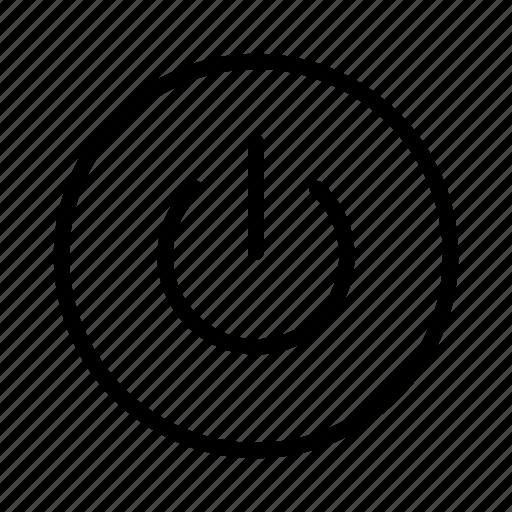 Off, on, power, restart, shutdown icon - Download on Iconfinder