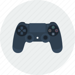joystick, ps icon