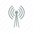 antenna, radio, signal, wifi, wireless icon