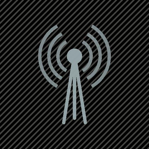 Wireless, signal, wifi, radio, antenna icon - Download on Iconfinder