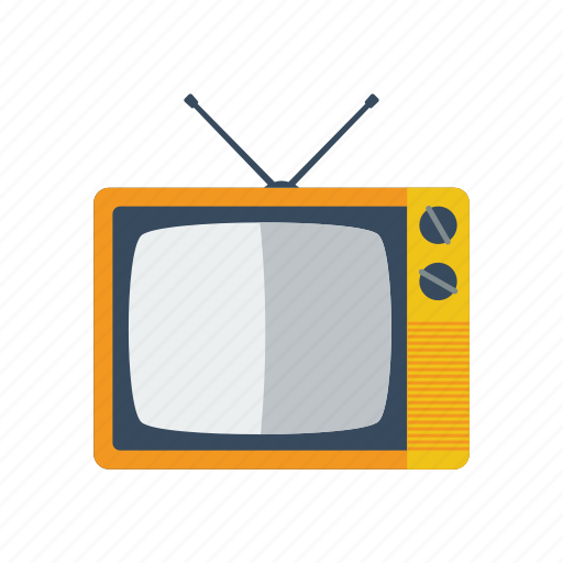 monitor, old, screen, television, tv icon