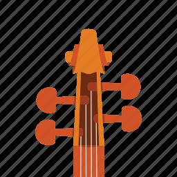 audio, music, sound, violin icon