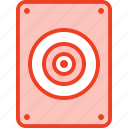 filled, lound, media, music, outline, speaker icon