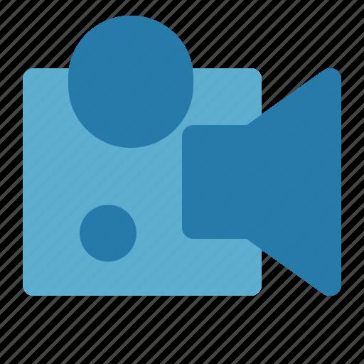 multimedia, recorder, video, video player icon