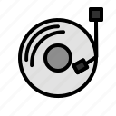 audio, disc, dj, music, song icon