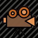 camera, film, recorder, video icon