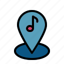 music, music store, place, shop, store icon