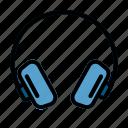 audio, earphone, headset, music, music store, studio music, tools icon