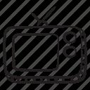 vintage, television, tv, advert media, broadcasting media, vintage tv