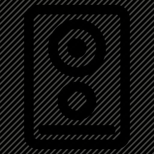 Audio, music, speaker icon - Download on Iconfinder