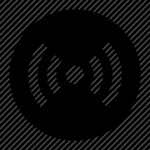 media, radio, signal, wireless icon