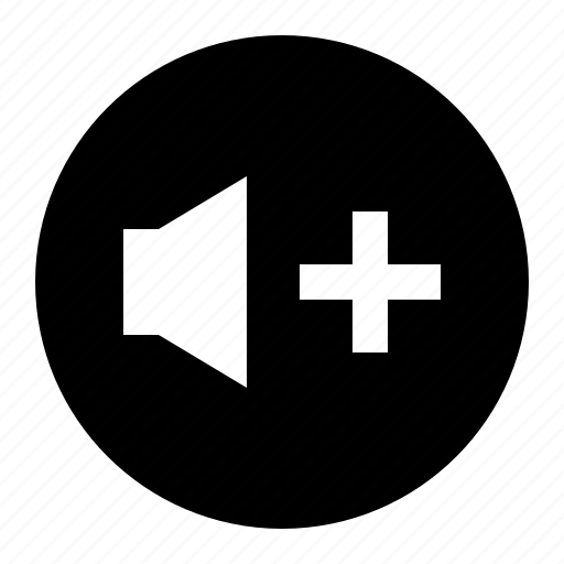 media, music, sound, up, volume icon