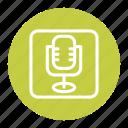media, microphone, music, player, volume