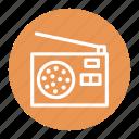 equipment, fm, listen, music, radio
