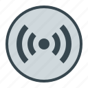 media, radio, signal, wireless icon