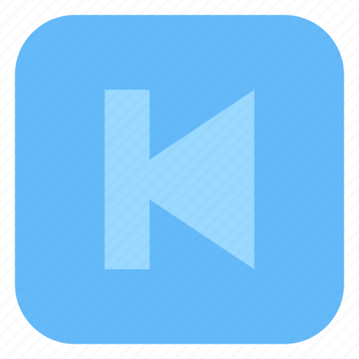 Audio, media, music, player, previous icon - Download on Iconfinder