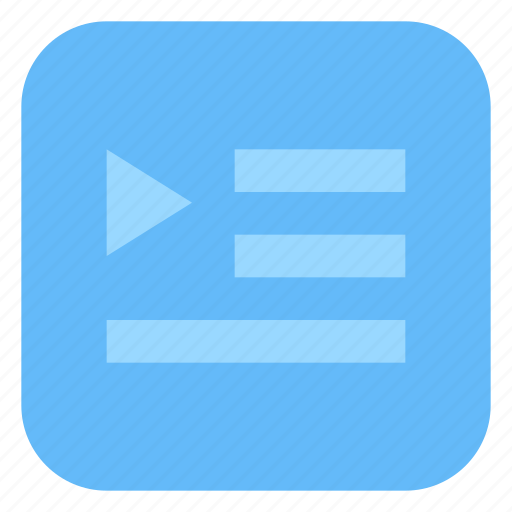 Media, music, player, playlist, song icon - Download on Iconfinder