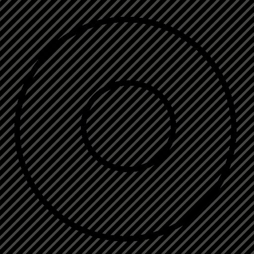 circle, round, stop icon