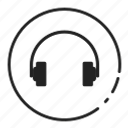 headphone, earphone, headset