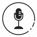 .svg, mic, microphone, recording