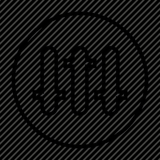 equalizer, musicplayer icon