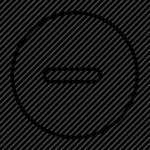 decrease, delete, erase, lower, minus, musicplayer icon
