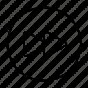 forward, move, musicplayer, next, skip, speed icon
