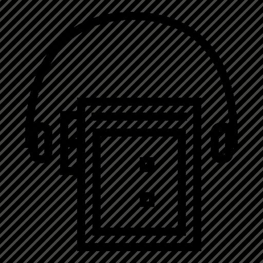 audio, audio player, music, music player, walkman icon