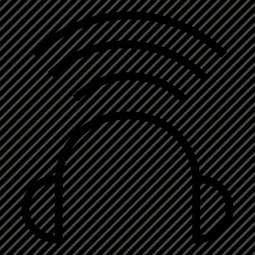 audio, headphone, headset, listen, music, songs icon