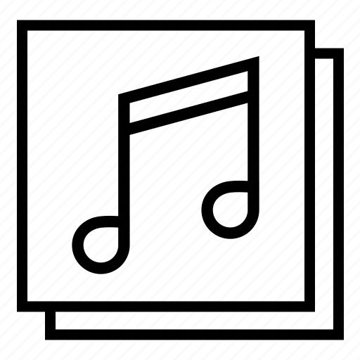 audio, music, musical notes, notes icon