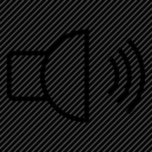 audio, full volume, high volume, loud, loud speaker, sound, speaker icon