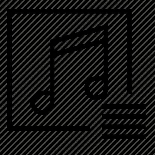 audio list, list, music list, play list, song list icon