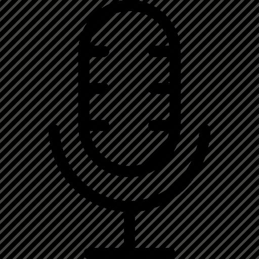 communication, loudspeaker, megaphone, mic, microphone, sound icon