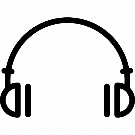 audio, earphone, headphone, headphones, headset, listen, listening device icon