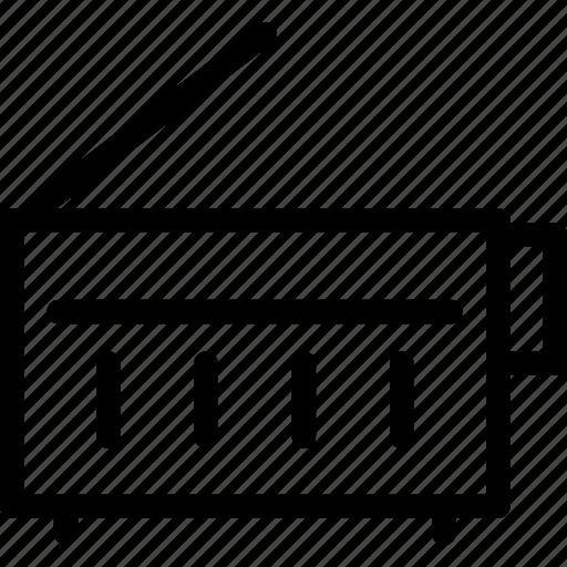 antenna, broadcast, broadcasting, cb, communication, fm, media icon