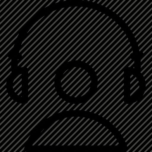 eadphone, earphone, headphone, headset, information, music, receive icon