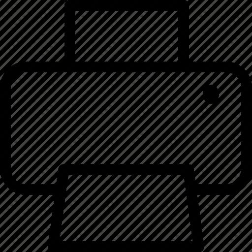 copier, map, print, printer, printing, typographer icon