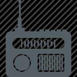 media, music, radio, sound icon