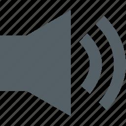 audio, media, music, sound icon