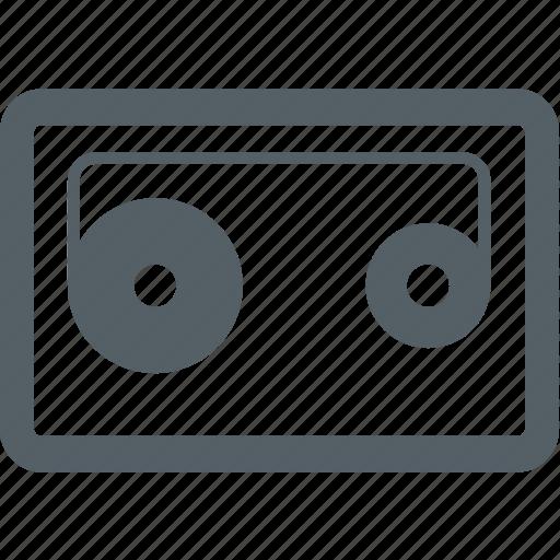 media, music, sound, tape icon