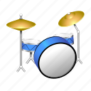 band, drums, instrument, music, rock