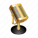 microphone, record, radio, sing, music, podcast